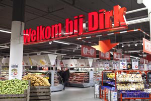 Dirk in Volendam verwoest door brand