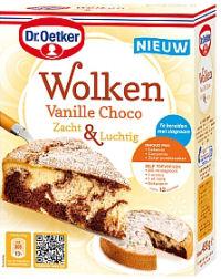 Wolkencake vanille choco