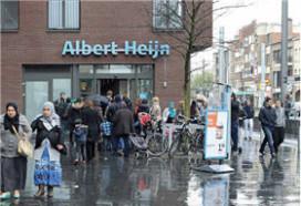Nieuwe franchisewinkel voor AH in België