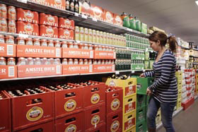 Kroegpils sneller duurder dan supermarktbier
