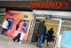 Sainsbury's countert Amazon met 1-uursservice