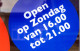 Supers BoZ iedere zondag open