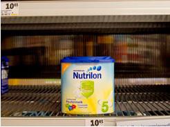 Nutrilon verkoop rechtstreeks naar China
