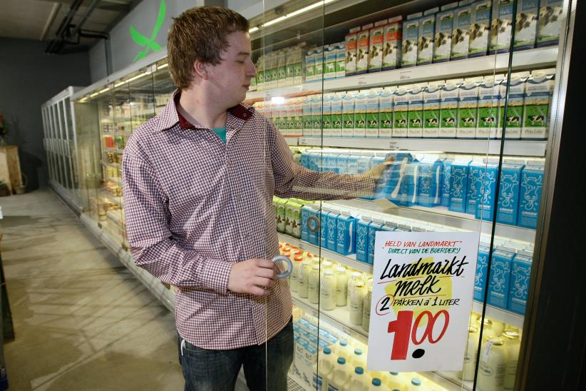 Klant wil meer betalen voor duurzame melk