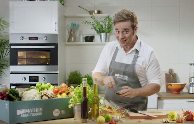 Tv-kok Vrieze lanceert familiemaaltijdbox