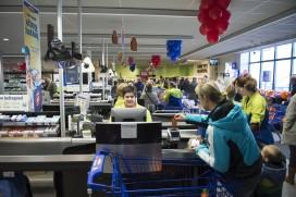Klant slaat steeds groter in bij supermarkten