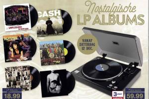Aldi start met verkoop vinyl