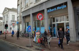 Winkelpersoneel AH's België staakt