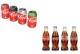 Coca cola blikjes en flessen 80x54