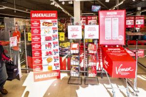 Inmiddels 22 Vomar-winkels 'Rood'