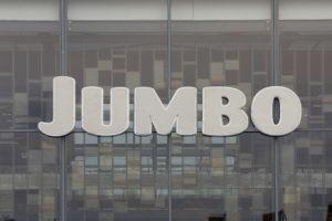 Jumbo plaatst nieuw logo op hoofdkantoor