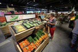 Groenten- en fruitconsumptie gedaald