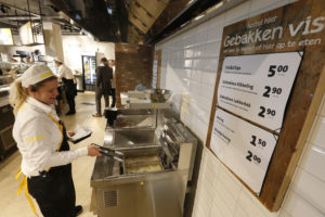 Fotorepo: Jumbo serveert fish & chips