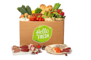 HelloFresh begin november naar beurs