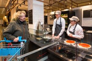 AMSTELVEEN, 23 FEB 2017: Albert Heijn opent vrijdag aanstaande twee nieuwe modules, om te beginnen bij de AH XL op het Gelderlandplein: een Bakery Café en een Deli Kitchen. © 2017 SEBASTIAAN ROZENDAAL