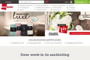 Dekamarkt lanceert vernieuwde webwinkel
