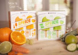 Coop lanceert groente- en fruitijsjes
