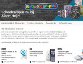 AH start verkoop Schoolcampus-assortiment