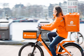 Flinke groei bestellingen via Thuisbezorgd.nl