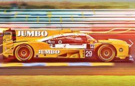 Van Eerd zaterdag in 24-uur van Le Mans