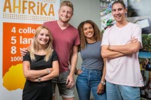 Medewerkers AH op expeditie in Afrika