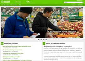 Greenpeace telt bio-aanbod supermarkten
