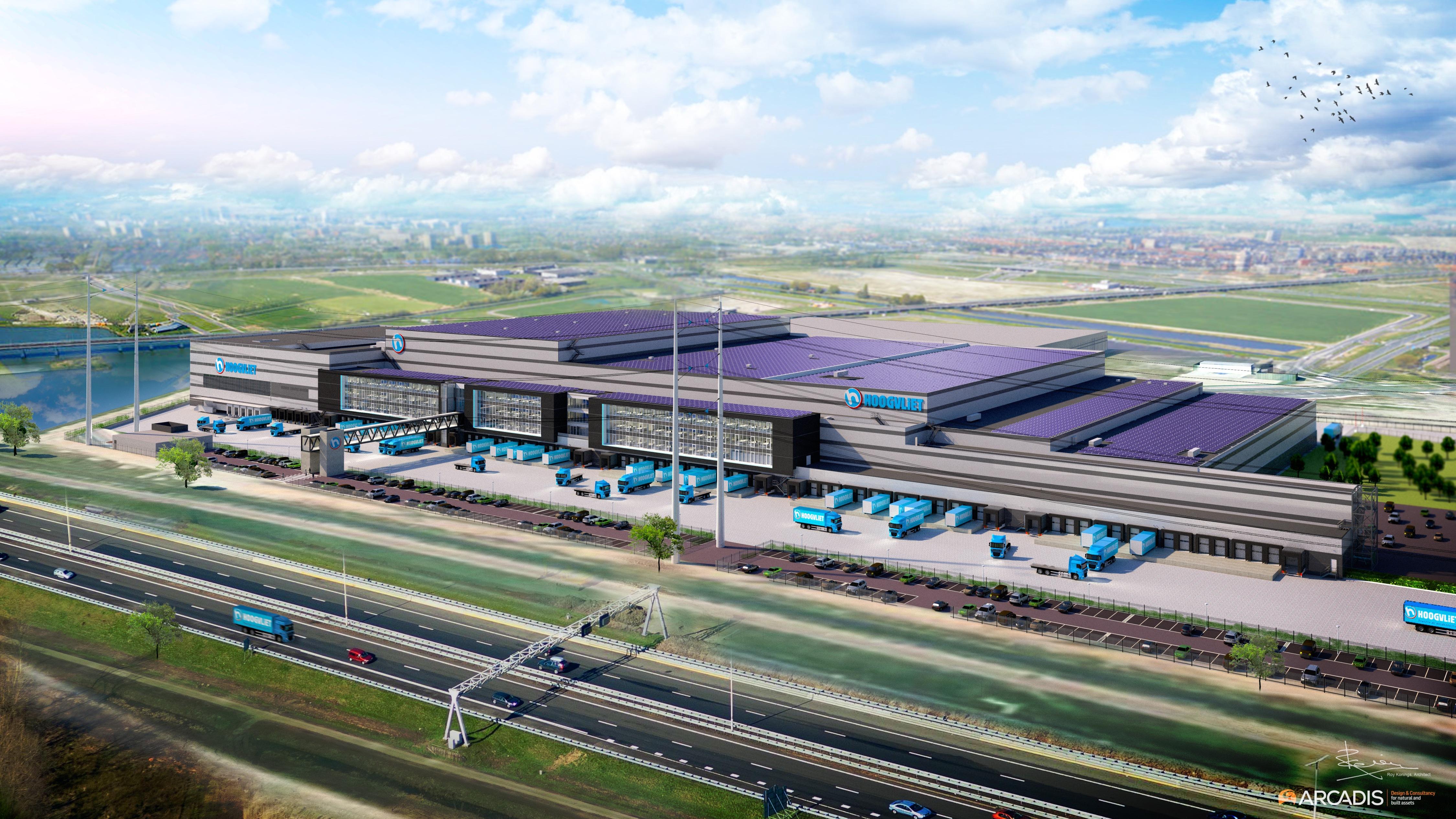Hoogvliet start bouw nieuw distributiecentrum in bleiswijk for Arcadis group