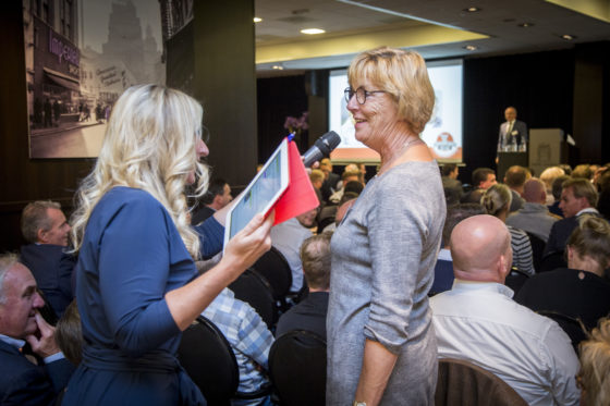 De deelnemers hebben enorm veel zin in de wedstrijd. Foto: Koos Groenewold