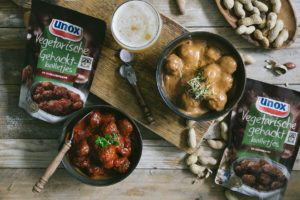 Opnieuw vegetarische gehaktballen bij Unox