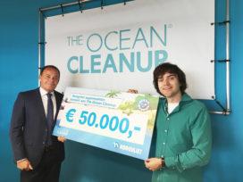 Hoogvliet doneert aan The Ocean Cleanup