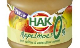 Hak zet suikerreductie in appelmoes verder door