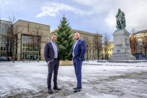 Haagse AH's brengen klanten samen met Kerst
