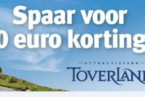 Jan Linders start spaaractie met Toverland