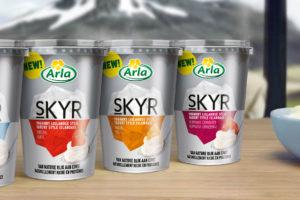 Skyr van Arla Foods in schappen Delhaize