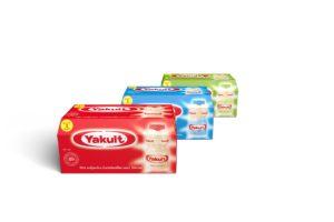 Nieuwe verpakking Yakult, minder schapruimte
