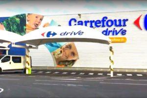 Carrefour versnelt in afhaalslag in Parijs